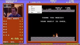 Kỷ lục chơi Super Mario Bros đạt đến mức không tưởng