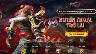 Torchlight Mobile cập bến làng game Việt cùng trang Landing hoành tráng