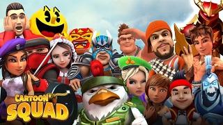 Cartoon Squad: tân binh puzzle đầy độc đáo từ Bandai Namco