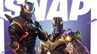 Fortnite cho game thủ hóa thân thành Thanos và thử sức mạnh của Găng tay Vô cực