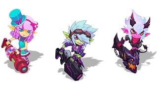 LMHT: Riot cho người chơi bầu chọn trang phục mới của Tristana