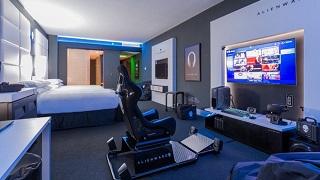Phòng khách sạn dành riêng cho game thủ