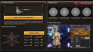 CFL – Chiêm ngưỡng sức mạnh của quái vật Giant Axe-Constantine