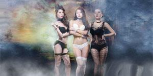 Bộ ba thiên thần gợi cảm của game Tiên Hiệp