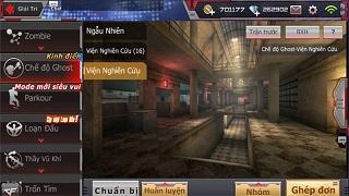 NÓNG: Chế độ Ghost chuẩn bị đổ bộ chiến trường Crossfire Legends