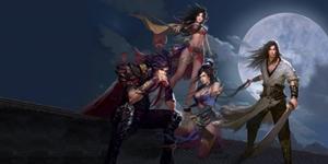 Cùng xem các nhân vật trong game Phong Vân đi skill đẹp lung linh