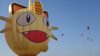 Fan Pokemon lần đầu chiêm ngưỡng khinh khí cầu đội Rocket ngoài đời thực