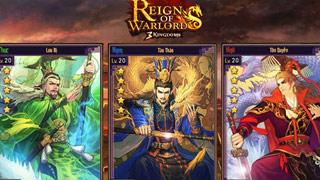 Game mobile chiến thuật đề tài Tam Quốc của VNG ra mắt trang chủ