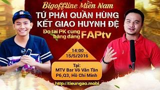 Nhóm hài FAPTV gửi lời khiêu chiến nhân sĩ Tiếu Ngạo Giang Hồ Mobile