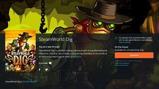 Nhanh tay sở hữu miễn phí game phiêu lưu SteamWorld Dig trên Origin