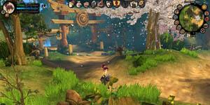 MMORPG 3D đánh theo lượt Đào Viên đã Việt hóa được 70%