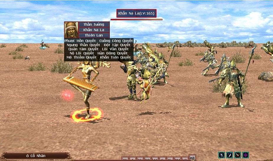 Giúp người chơi biết được những vật phẩm hiếm có thể rớt ra từ BOSS mình  đang đánh. Nhấn phím Alt để mở hoặc hủy