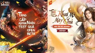 Cửu Dương VNG cùng Trường Sinh Quyết VNG đổ bộ làng game Việt hôm nay