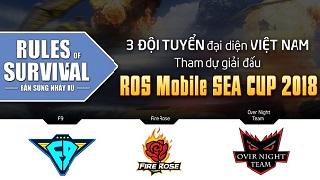 ROS MOBILE SEA CUP: Đại diện Việt Nam chuẩn bị gì cho chuyến du đấu Thái Lan
