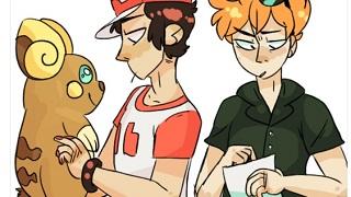"""Bộ đôi Red và Blue đã biến Pokemon Sun & Moon trở thành một bộ phim """"đam mỹ"""""""
