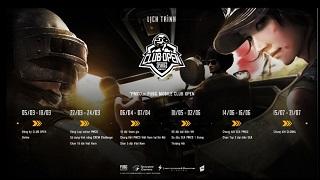 VNG công bố lịch trình thi đấu chính thức của các đội tuyển tham gia giải đấu PUBG Mobile Club Open 2019 tại Việt Nam