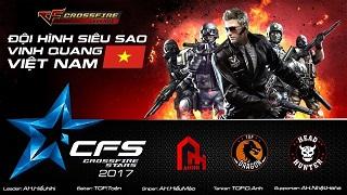 Lộ diện đội hình Siêu Sao CFL Việt Nam thi đấu giải quốc tế CFS