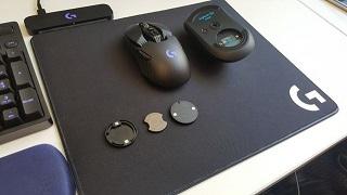 Logitech G PowerPlay: mousepad kiêm sạc pin chuột không dây cực tiện ích
