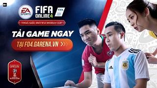 FIFA Online 4 đã cho phép tải về