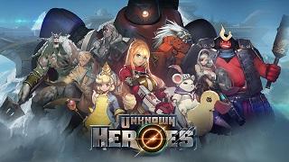 Unknown Heroes – tân binh RPG đồ hoạ anime siêu chất từ đại gia Nexon