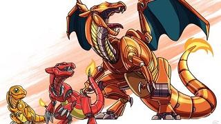 Poke x Robot - thêm một ý tưởng độc đáo nữa về Pokemon
