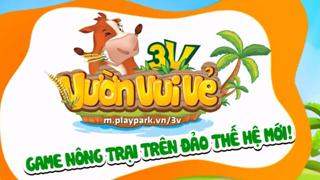 Chạm tay trải nghiệm Vườn Vui Vẻ 3V - Game nông trại sắp ra mắt tại Việt Nam