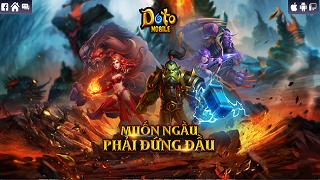 Doto mobile - Game chiến thuật xây dựng lấy cảm hứng từ Warcraft 3 sắp ra mắt