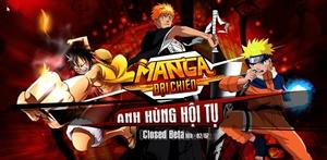 Tặng 1000 Gift code Closed Beta Manga Đại Chiến