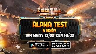 Chiến Tank Huyền Thoại ấn định lịch Alpha Test