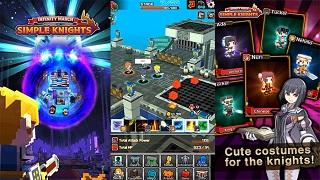 Simple Knights – game RPG giải trí siêu thú vị dành cho game thủ… lười