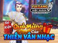 yulgang hiep khach - [Sự Kiện] Quà Mừng Của Thiên Vân Nhạc (01.2021) - 13012021