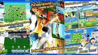 Huyền thoại Captain Tsubasa đã chính thức đến tay game thủ toàn cầu