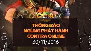 Contra Mobile rời cuộc chơi sau 1 năm ra mắt