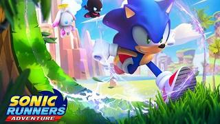 Sonic Runners Adventure - Nhím xanh bất ngờ quay trở lại với phiên bản mobile cực chất