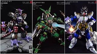 Nhân vật Dragon Ball siêu ngầu với tạo hình phong cách Gundam