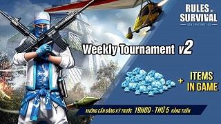 ROS Mobile Weekly Tournament đang chờ đón bạn vào 19h tối nay