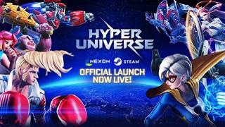Bom tấn MOBA màn hình ngang Hyper Universe chính thức đổ bộ trên Steam