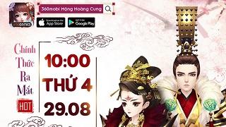 360mobi Mộng Hoàng Cung hẹn bạn vào ngày 29/8