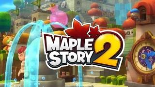 MapleStory 2 có website tiếng Anh, đã cho đăng ký trước