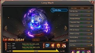 Đánh thức Long Mạch – Lên ngôi bá chủ trong webgame Đại Kiếm Vương