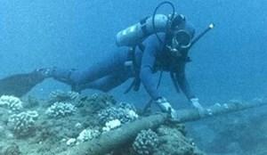 Đứt cáp quang biển AAG cách bờ biển Vũng Tàu 18km