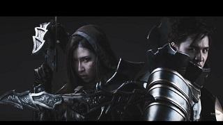 Cặp đôi game thủ show bộ ảnh kỉ niệm ngày cưới cosplay Diablo III cực chất
