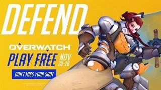 Game thủ sẽ được chơi Overwatch miễn phí nguyên tuần này
