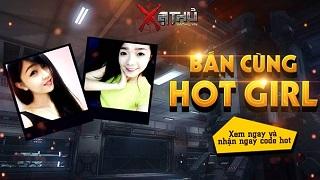 Gamer Xạ Thủ đọ súng cùng 2 hotgirl Cẩm Tú và Thu Thảo