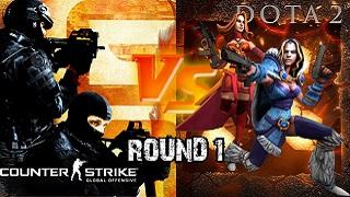 Cuộc chiến khốc liệt giữa CS GO và DotA 2