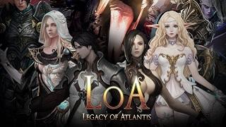 Legacy of Atlantis - Game mobile MMORPG thời gian thực hấp dẫn chính thức phát hành toàn cầu