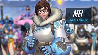 Những hình ảnh nóng bỏng của nữ hoàng băng giá Overwatch – Mei