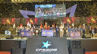 Việt Nam đăng quang tại giải Đột Kích quốc tế