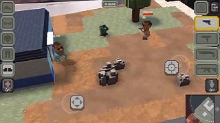 Guns Royale - tựa game mobile bắn súng nhái theo PUGB với đồ họa Minecraft