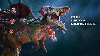 Full Metal Monsters – Game mobile cho phép gắn súng vào khủng long bắn nhau
